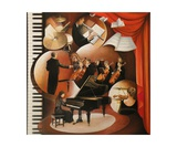 Concerto pour piano N 3 Photographic Print by Frank Godille