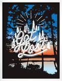 Get Lost Posters by Mike Klay