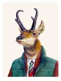 Pronghorn Poster av  Animal Crew