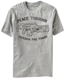 Alien - Peace Through Superior Fire Power T-Shirt