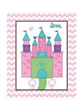 Princess Castle Posters by Jo Moulton