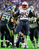 Chandler Jones Super Bowl XLIX Action Photo
