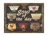 Soup of the Day Poster by Jo Moulton