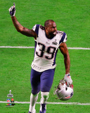 Brandon Browner Celebrates Winning Super Bowl XLIX Photo