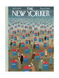 The New Yorker Cover - April 14, 1962 Giclee Print by Charles E. Martin