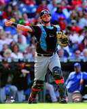 Jarrod Saltalamacchia 2014 Action Photo