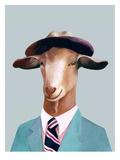 Goat Plakat autor Animal Crew