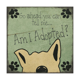 Am I Adopted Premium Giclee Print by Jo Moulton