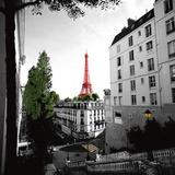 Stairway to Eiffel Poster par Anne Valverde