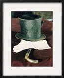 Abraham Lincolns Hat, Cane, and Gloves Framed Photographic Print by Joe Scherschel