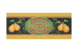 Breezy View Orchard Poster by Kim Lewis