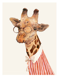 Ms. Giraffe Prints by  Animal Crew