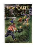 The New Yorker Cover - August 20, 1949 Regular Giclee Print by Constantin Alajalov