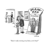 """""""They're really running out of ideas, aren't they?"""" - Cartoon Premium Giclee Print by Joe Dator"""