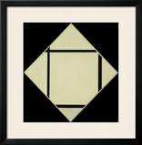 Tableau I - Lozenge with Four Lines and Gray, 1926 Posters by Piet Mondrian