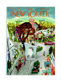 The New Yorker Cover - November 2, 1946 Regular Giclee Print by Ilonka Karasz