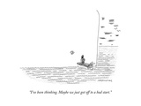 """I've been thinking. Maybe we just got off to a bad start."" - New Yorker Cartoon Premium Giclee Print by Mick Stevens"