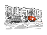 """Sriracha"" - New Yorker Cartoon Premium Giclee Print by Joe Dator"