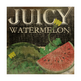 Juicy Watermelon Prints by Jennifer Pugh