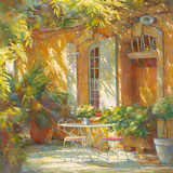 Sous la treille Prints by Johan Messely