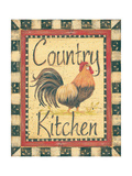 Country Kitchen Poster by Jo Moulton