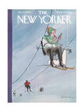 The New Yorker Cover - January 30, 1960 Premium Giclee Print by Charles Saxon