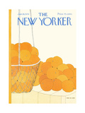 The New Yorker Cover - January 19, 1976 Regular Giclee Print by Gretchen Dow Simpson