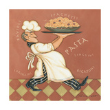 Pasta Chef Print by Stephanie Marrott