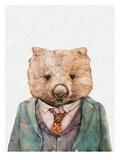 Wombat Poster af Animal Crew