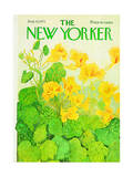 The New Yorker Cover - August 14, 1971 Premium Giclee Print by Ilonka Karasz