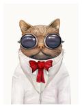 Astro Cat Poster von  Animal Crew