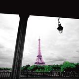 Sparkling Eiffel Prints by Anne Valverde
