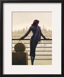 Port of Call Framed Giclee Print by Brent Lynch