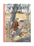 The New Yorker Cover - February 13, 1954 Premium Giclee Print by Perry Barlow