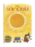 The New Yorker Cover - August 28, 1965 Regular Giclee Print by Abe Birnbaum