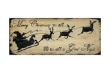 Joyeux Noël à tous Poster par Jo Moulton