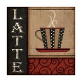 Latte Premium Giclee Print by Jennifer Pugh