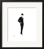 Male Fashion Figure, c. 1960 Framed Giclee Print by Andy Warhol