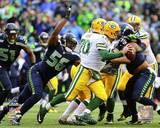 Cliff Avril NFC Championship Game Action 2014 Playoffs Photo