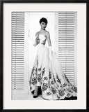 "Audrey Hepburn. ""Sabrina Fair"" 1954, ""Sabrina"" Directed by Billy Wilder. Custome by Edith Head Framed Photographic Print"