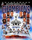 Super Bowl XLIX Champions New Enlgand Patriots Photo