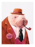 Walrus Poster af Animal Crew