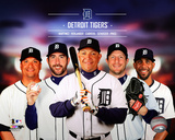 Detroit Tigers 2014 Team Composite Photo
