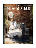 The New Yorker Cover - August 8, 1959 Premium Giclee Print by Perry Barlow