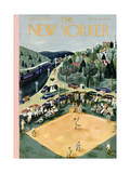 The New Yorker Cover - June 29, 1946 Premium Giclee Print by Ilonka Karasz