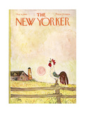 The New Yorker Cover - May 8, 1965 Regular Giclee Print by William Steig