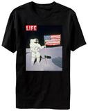 Life Magazine - Moon Flag Skjorte