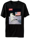 Life Magazine - Moon Flag Shirt