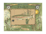 Trout Prints by Anita Phillips