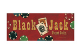 Black Jack Art by Stephanie Marrott